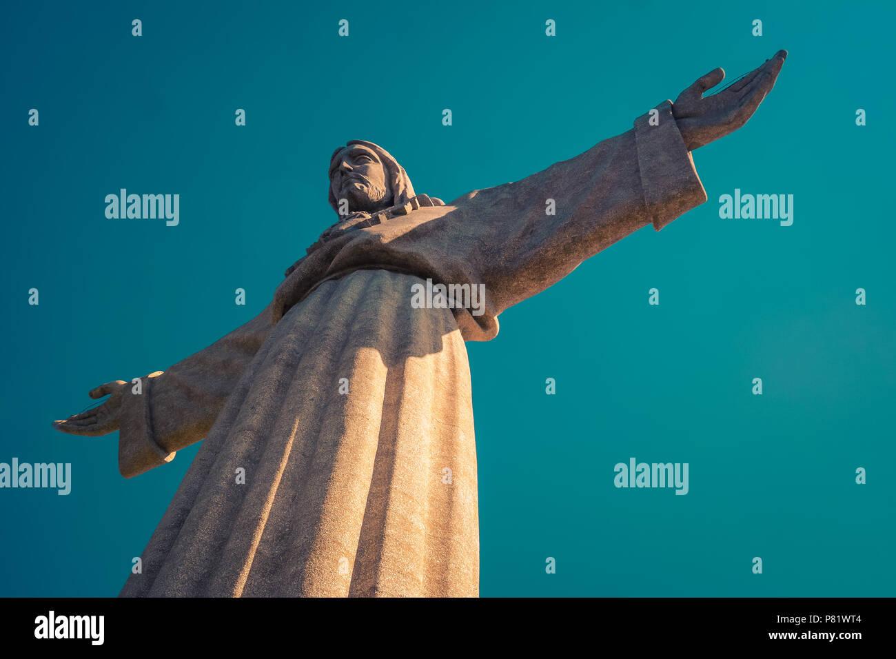 Lisbon, Portugal, Santuário Nacional de Cristo Rei - Stock Image