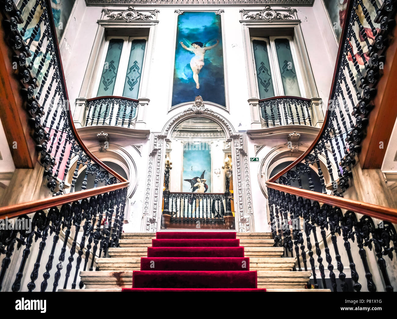 Lisbon, Portugal, Embaixada, concept store - Stock Image