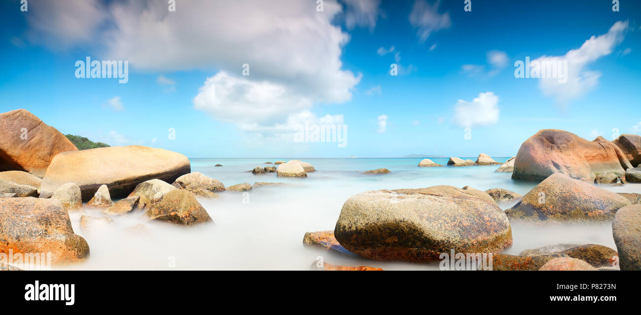 Vacation Holiday Concept Background Wallpaper Tropical Beach With