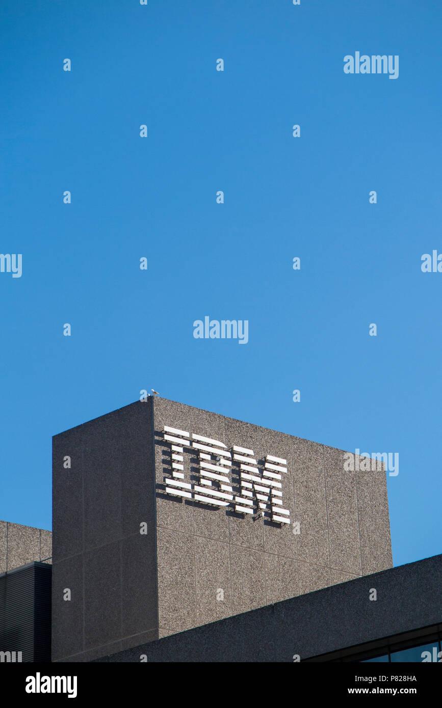 IBM Headquarters on London's Southbank - Stock Image