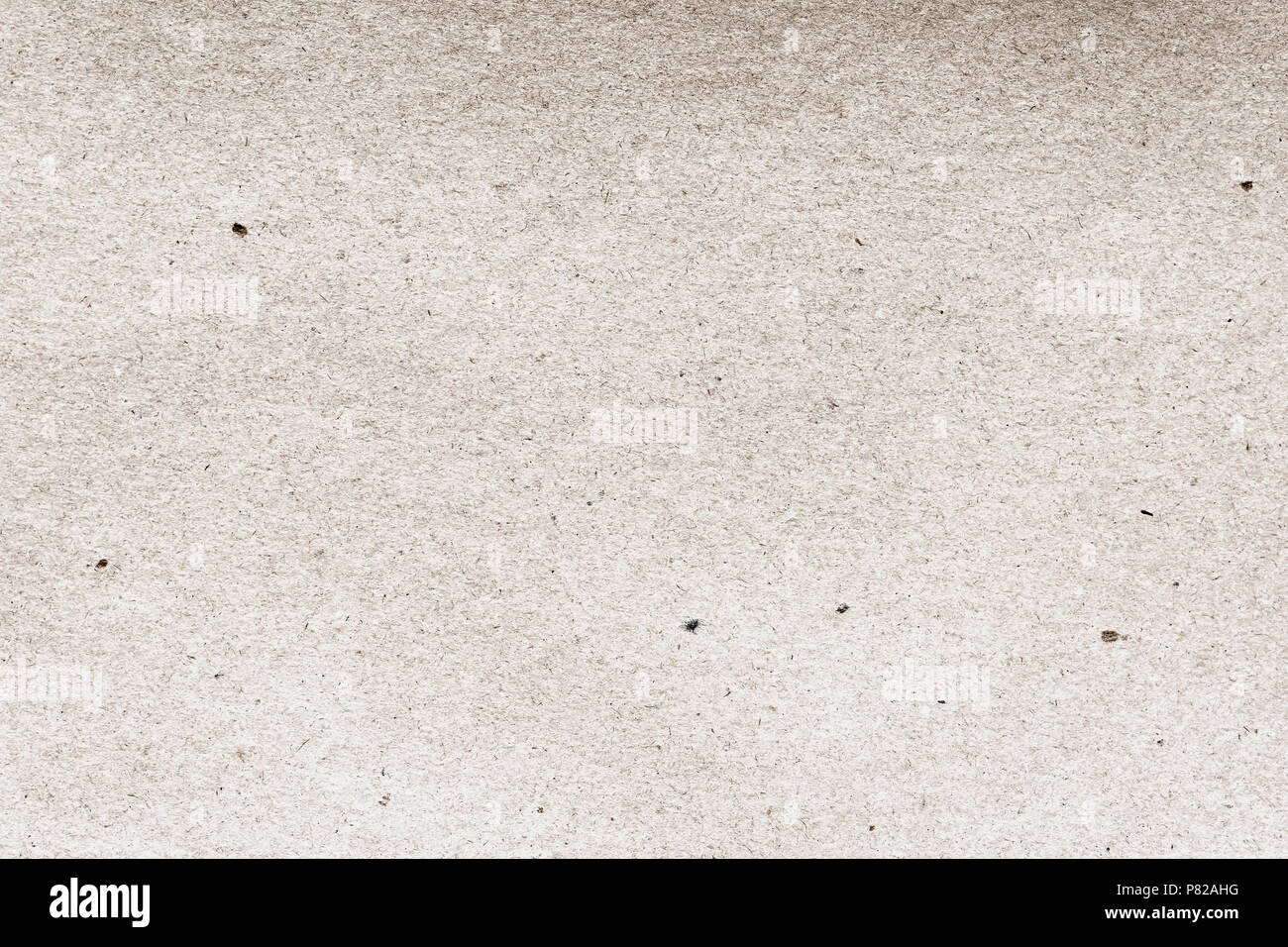Vintage paper texture cardboard background close-up. Grunge old paper surface texture. Backdrop, substrate, composition use with copy space - Stock Image
