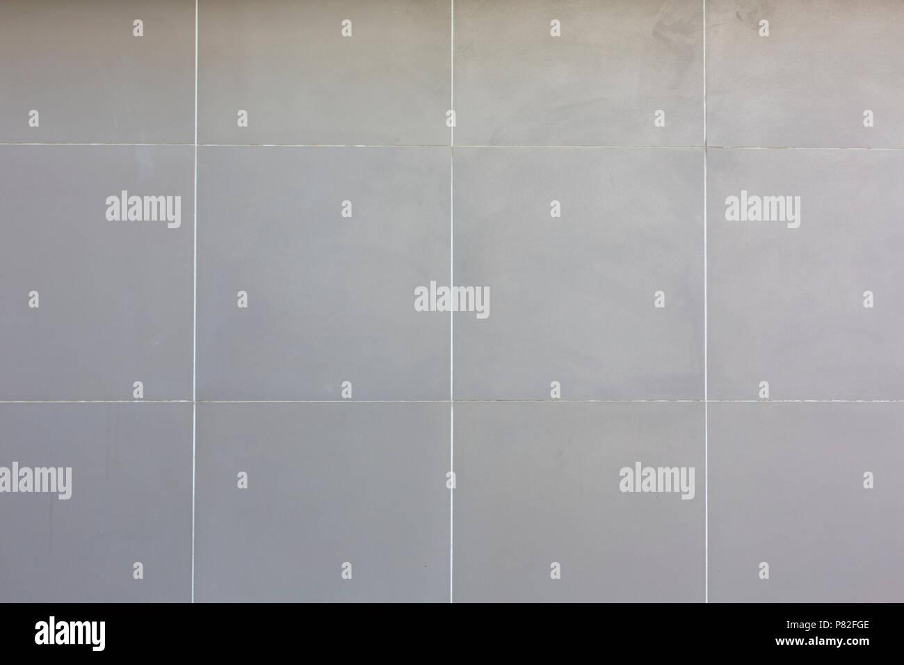 White Ceramic Tiles Square Pattern Texture Background