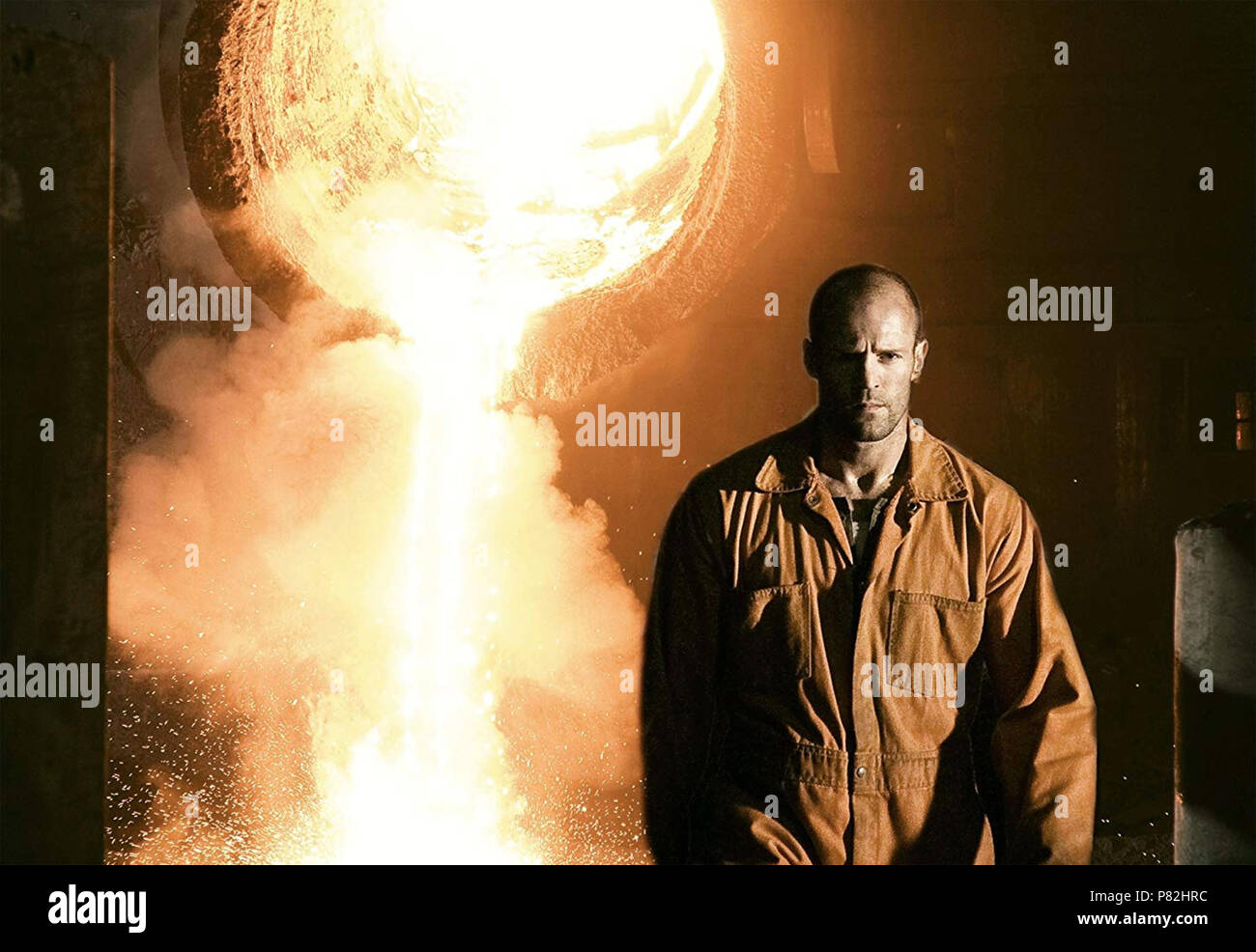 DEATH RACE 2008 Universal Pictures film with Jason Statham - Stock Image