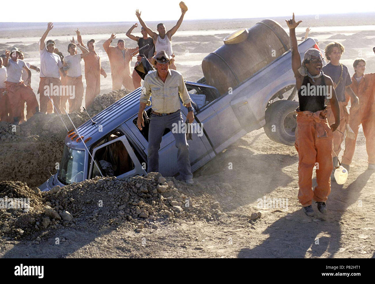 HOLES  2003 Walt Disney Pictures film with Jon Voight - Stock Image