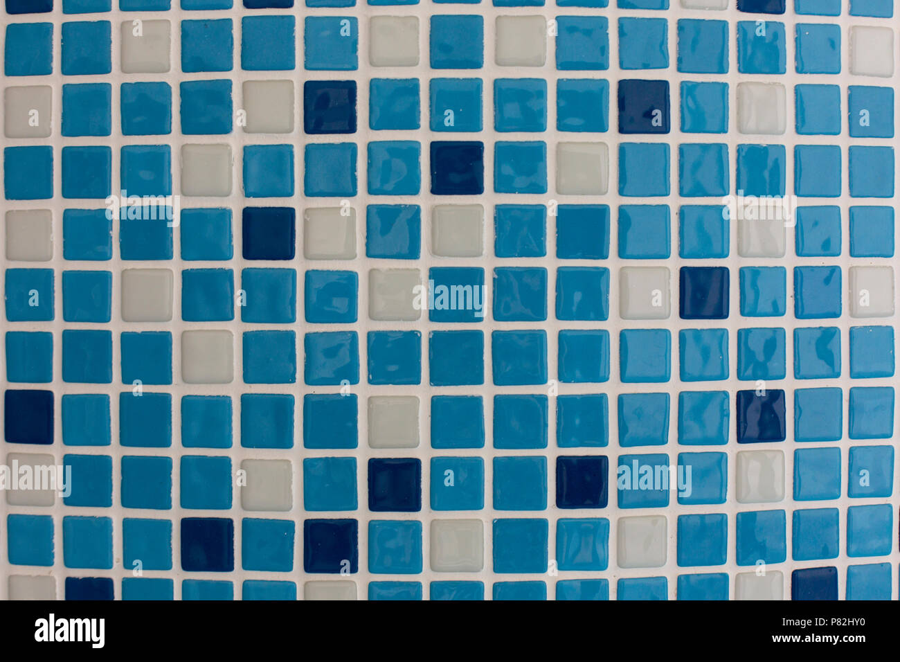 blue square ceramic tiles in the pool or bathroom pattern texture ...