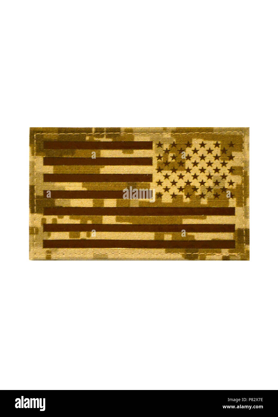 WASHINGTON (Aug. 3, 2016) Effective immediately, Don't Tread on Me and Reverse U.S. Flag patches are authorized for optional wear on NWU Type II and Type III at the discretion of unit commanding officers. - Stock Image