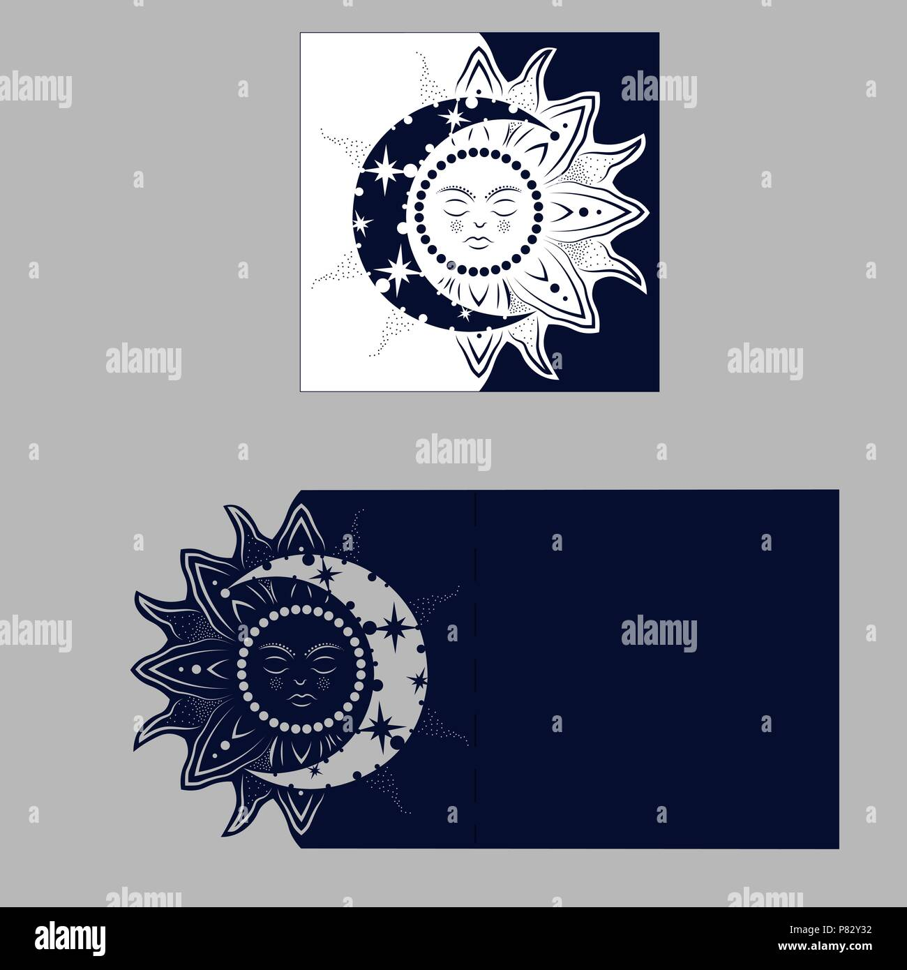 layout congratulatory envelope with carved pattern the template for