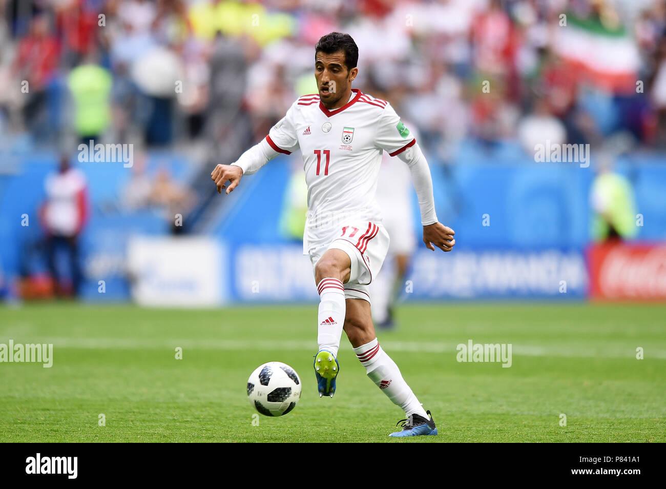 pretty nice the best look for SAINT PETERSBURG, RUSSIA - JUNE 15: Vahid Amiri of IR Iran ...