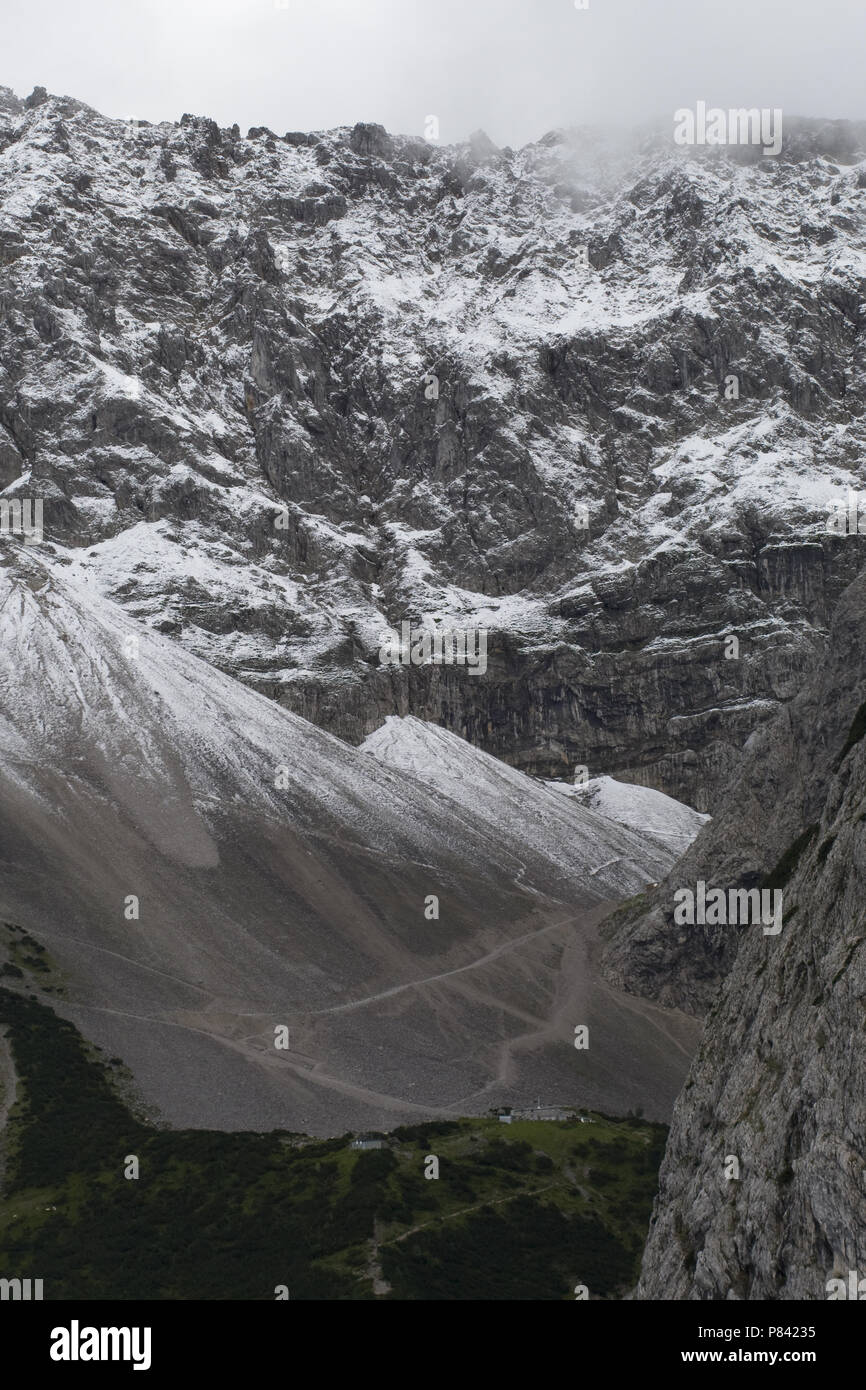 Alps Germany, Alpen Duitsland - Stock Image