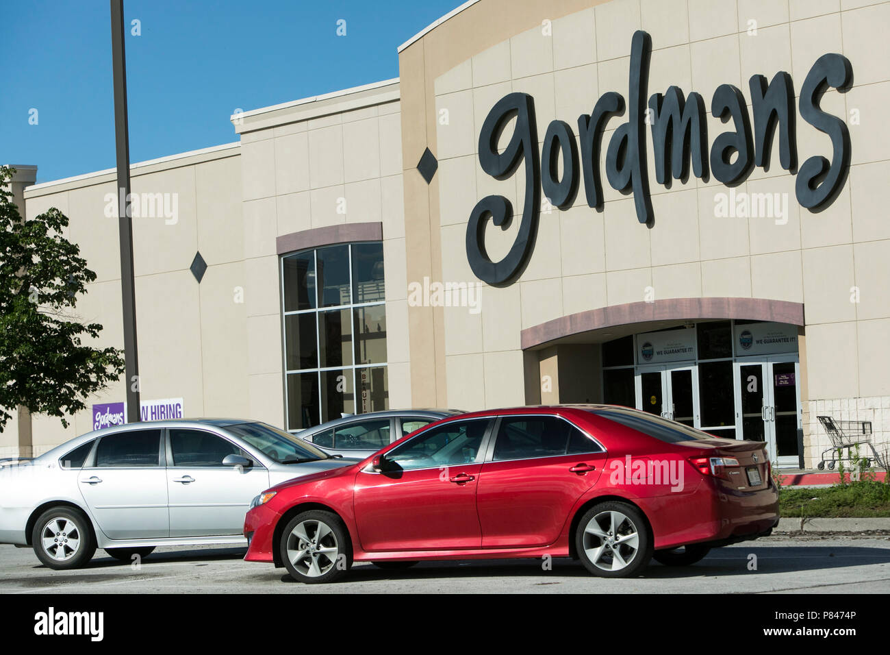 A Logo Sign Outside Of A Gordmans Retail Store In Council Bluffs