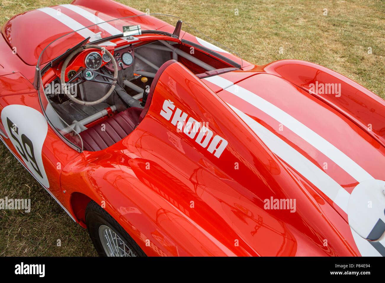 Skoda 1100 OHC sports car. - Stock Image