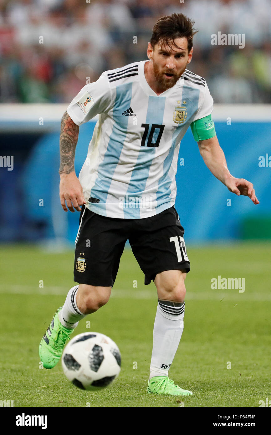 fd816f822 SAINT PETERSBURG, RUSSIA - JUNE 26: Lionel Messi of Argentina national team  during the