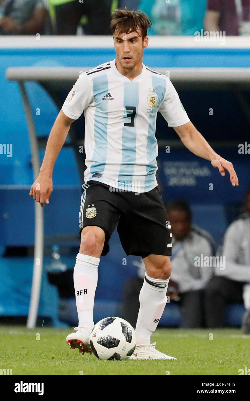 Saint Petersburg Russia June 26 Nicolas Tagliafico Of Argentina National Team During The 2018 Fifa World Cup Russia Group D Match Between Nigeria And Argentina At Saint Petersburg Stadium On June