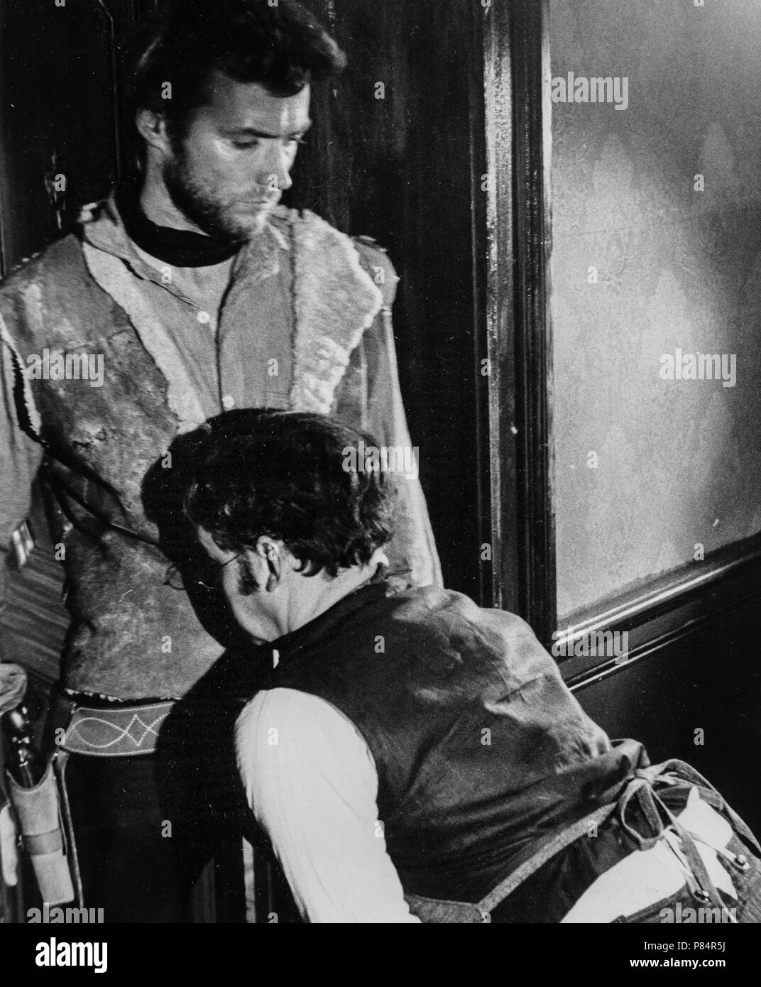 clint eastwood, gian maria volontè, for a few dollars more, 1965 Stock Photo