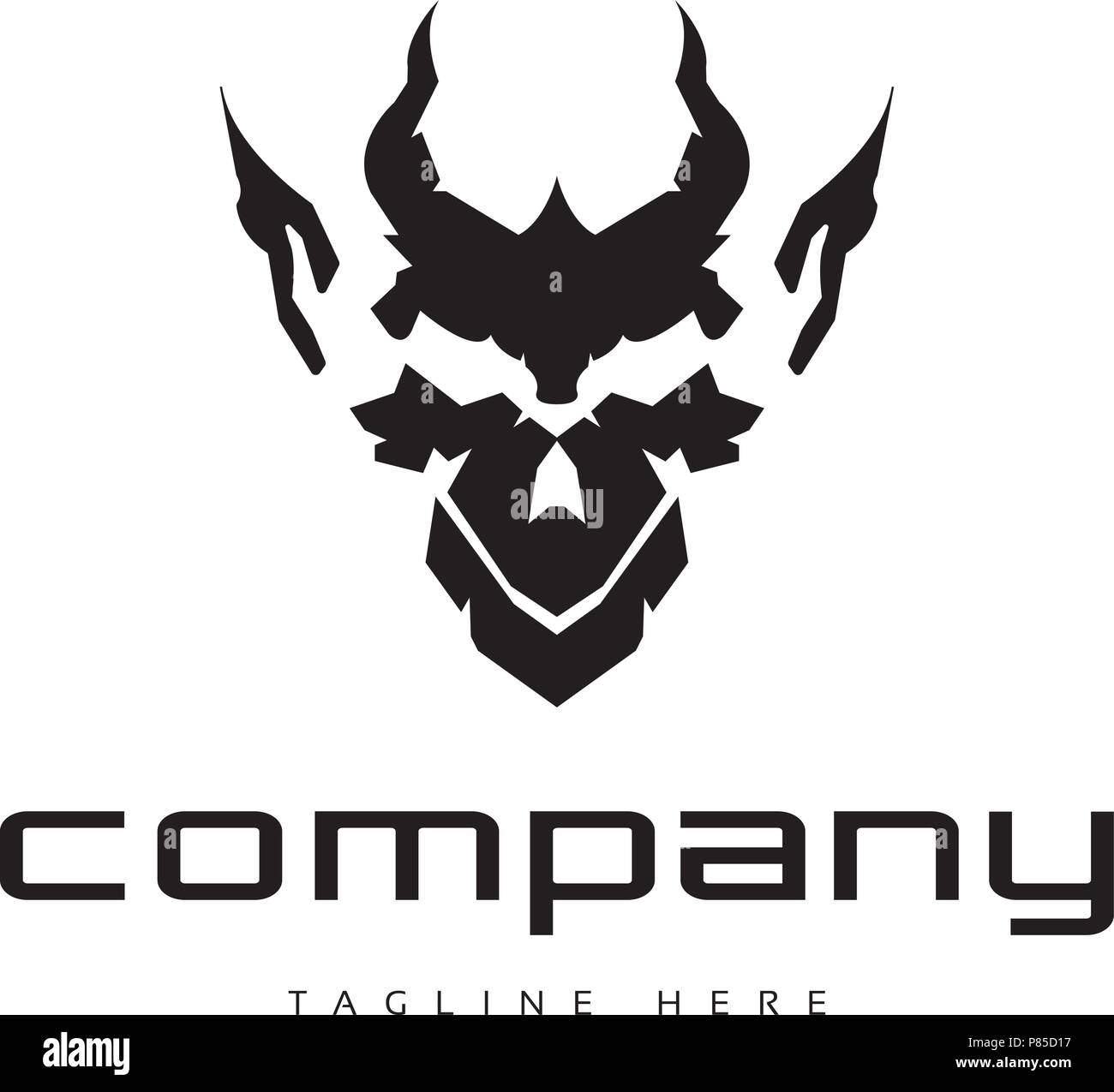 devil logo high resolution stock photography and images alamy https www alamy com devil face logo image211561651 html