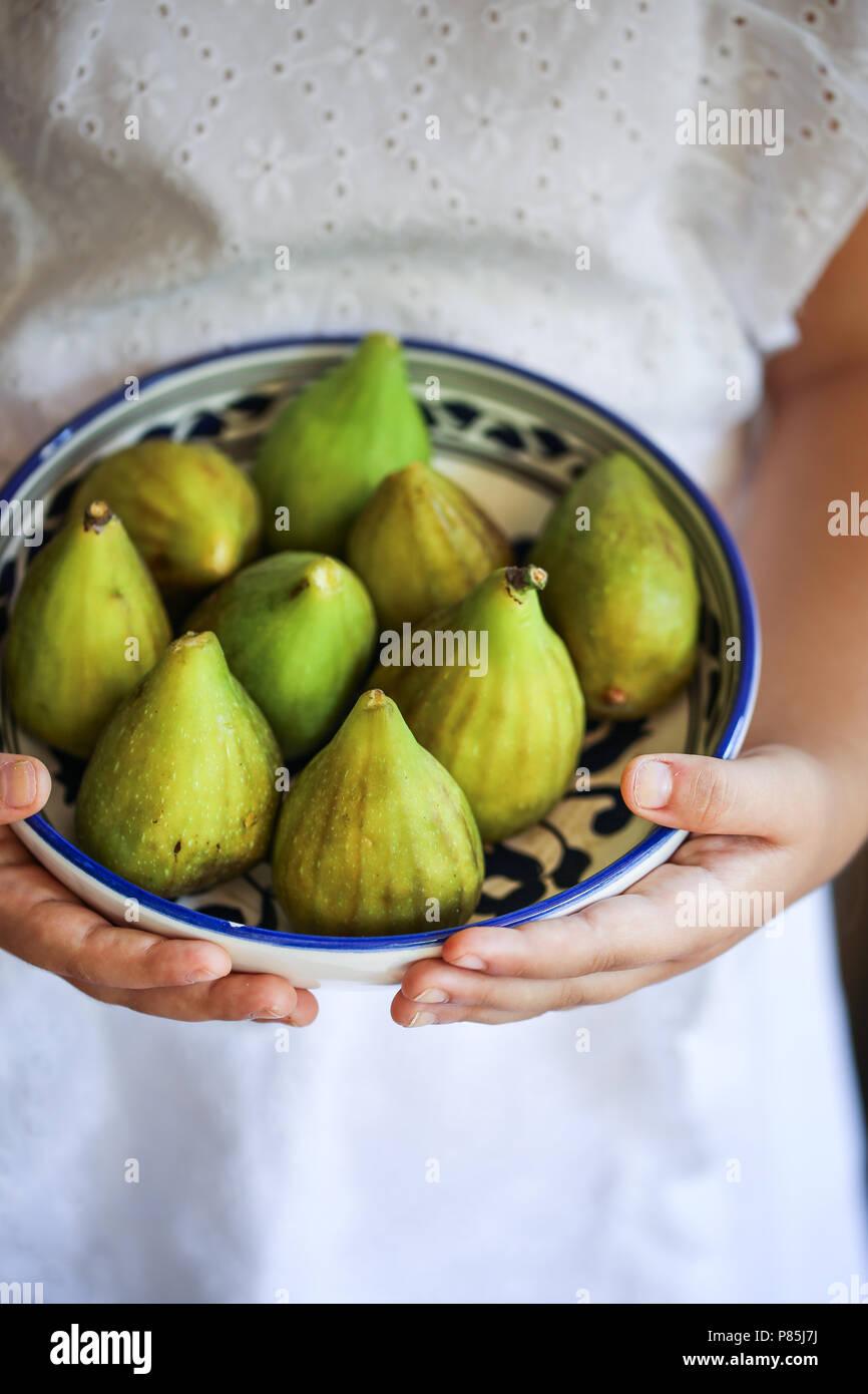 Fioroni, early figs - Stock Image