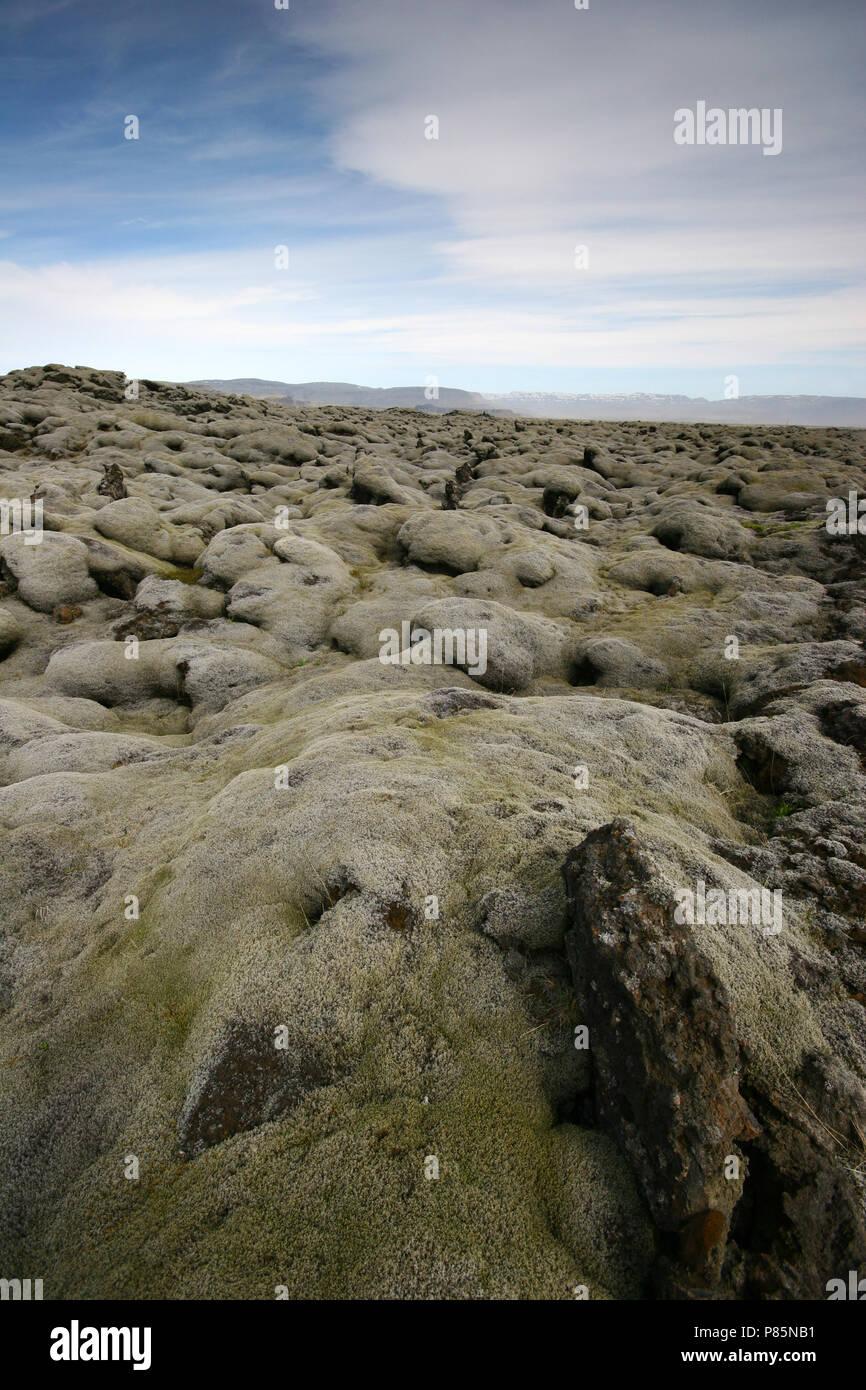 Laki IJsland, Laki Iceland - Stock Image
