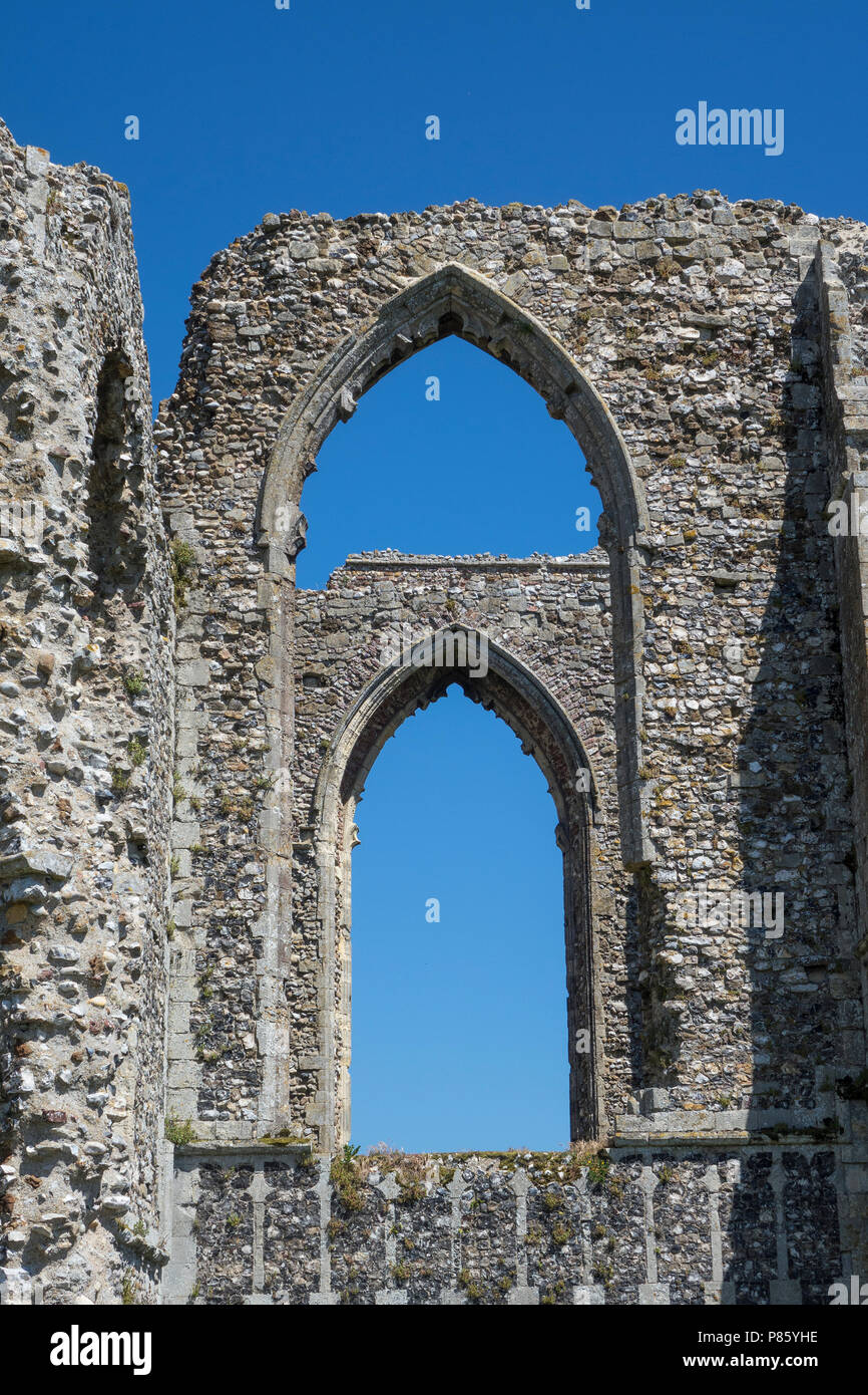 England, Suffolk, Leiston Abbey - Stock Image