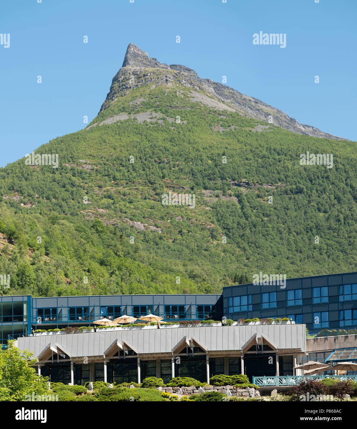 Hotel Union Geirangerfjord Norway Stock Photo 211579940