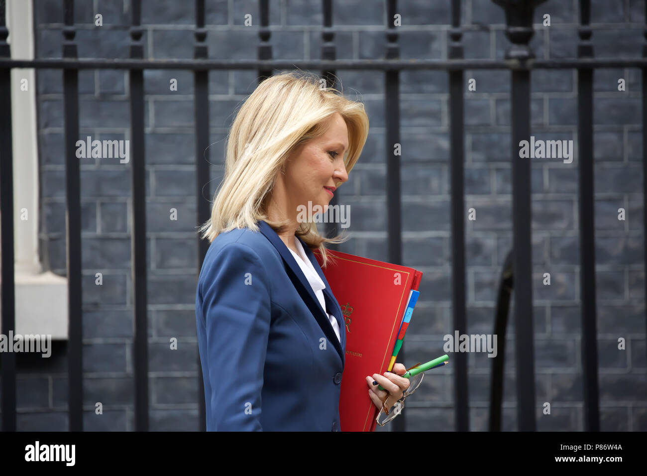 Former Conservative MP Esther McVey chairs a panel