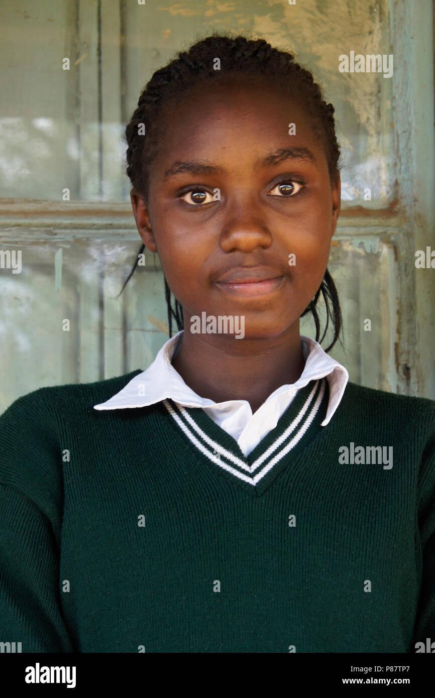 Nude Ebony adolescents