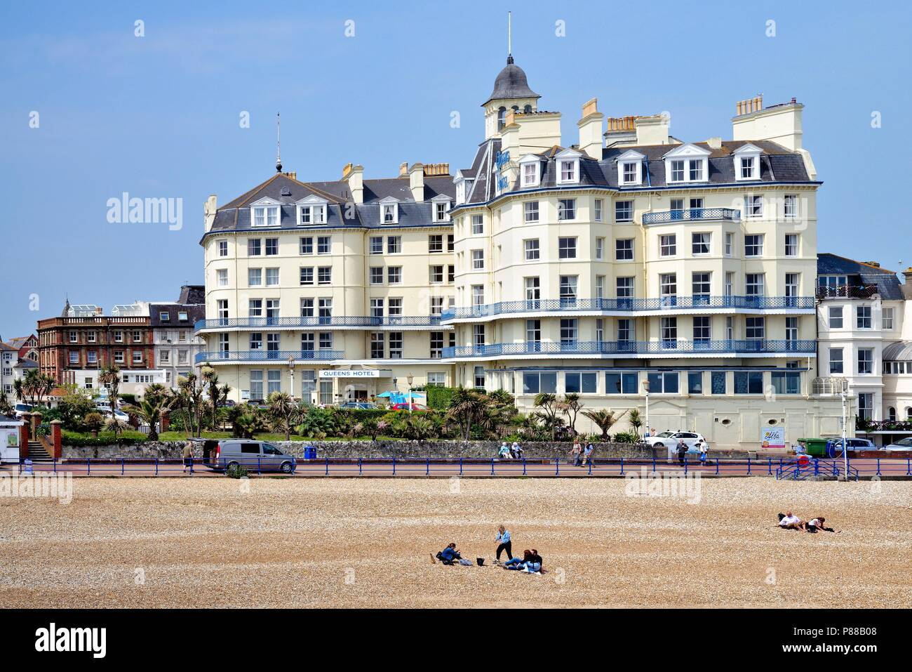 The Queens Hotel Marine Parade Eastbourne East Sussex