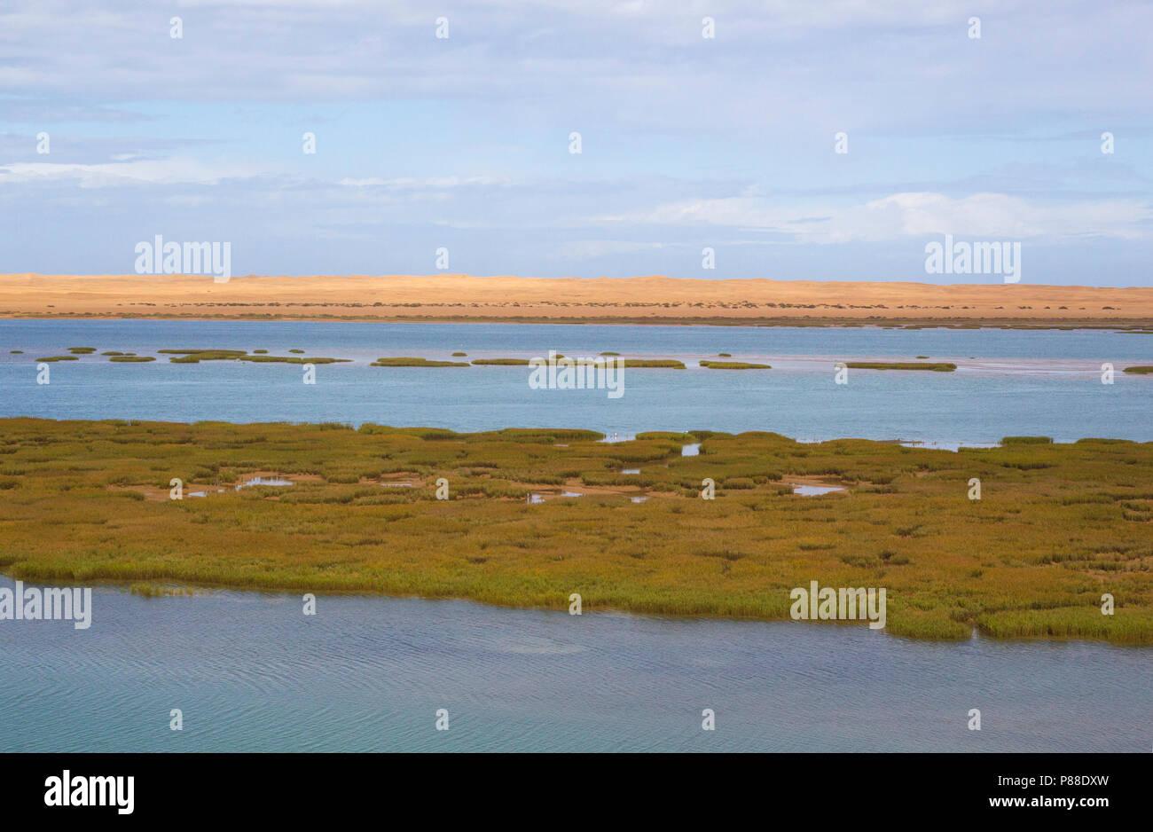Khenifiss National Park, Khenifiss National Park - Stock Image