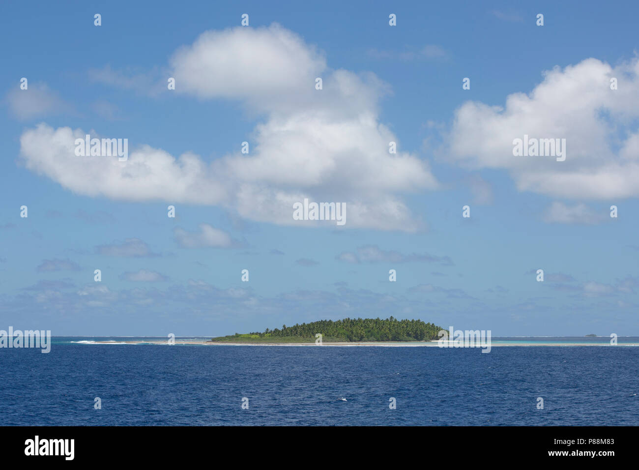 Anchorage Island, Suwarrow Atoll, Cook Islands - Stock Image