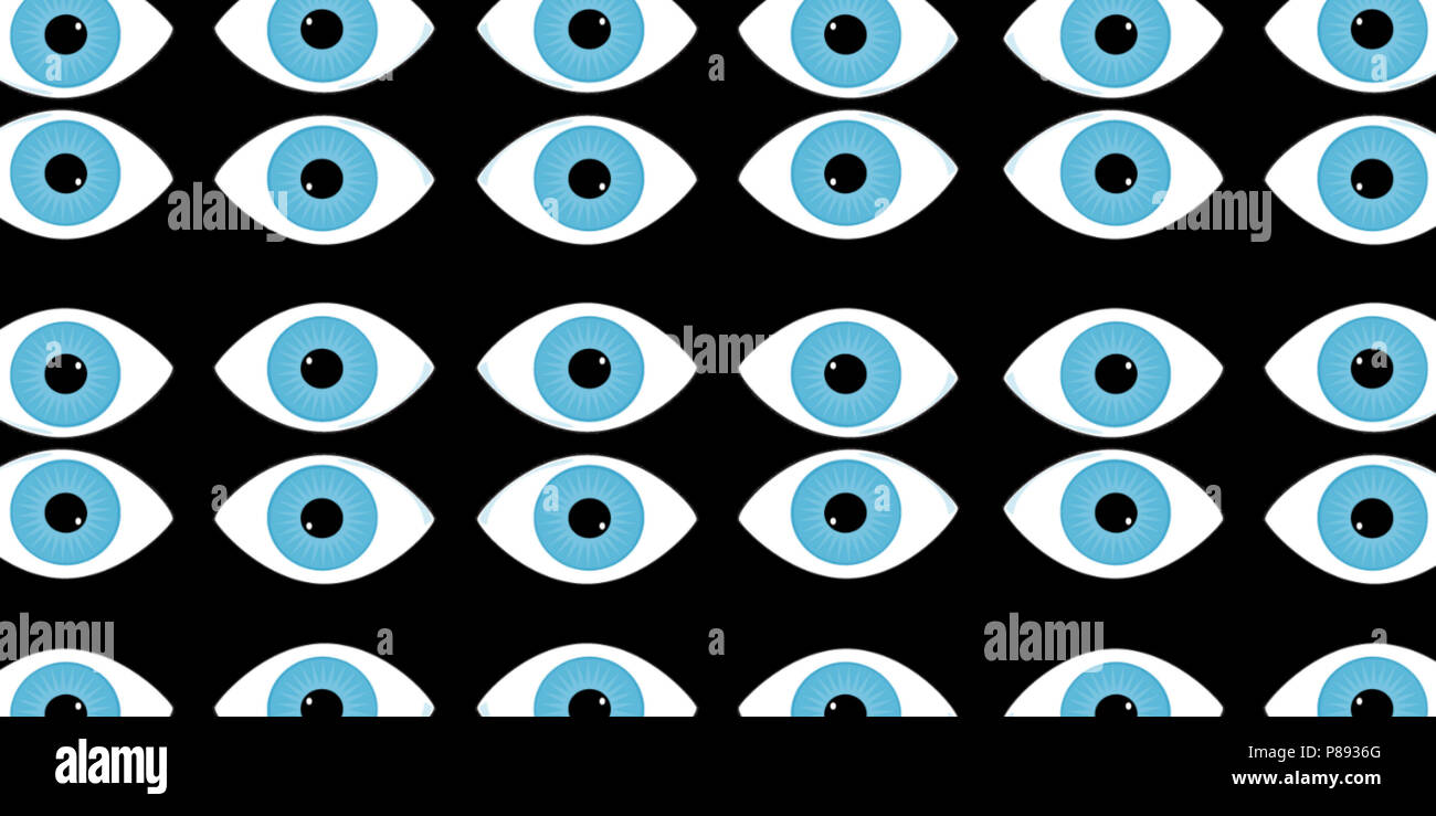 digital 3d illustrationwallpapers for your desktopeyes look into the soulmany blue eyes on a black background P8936G