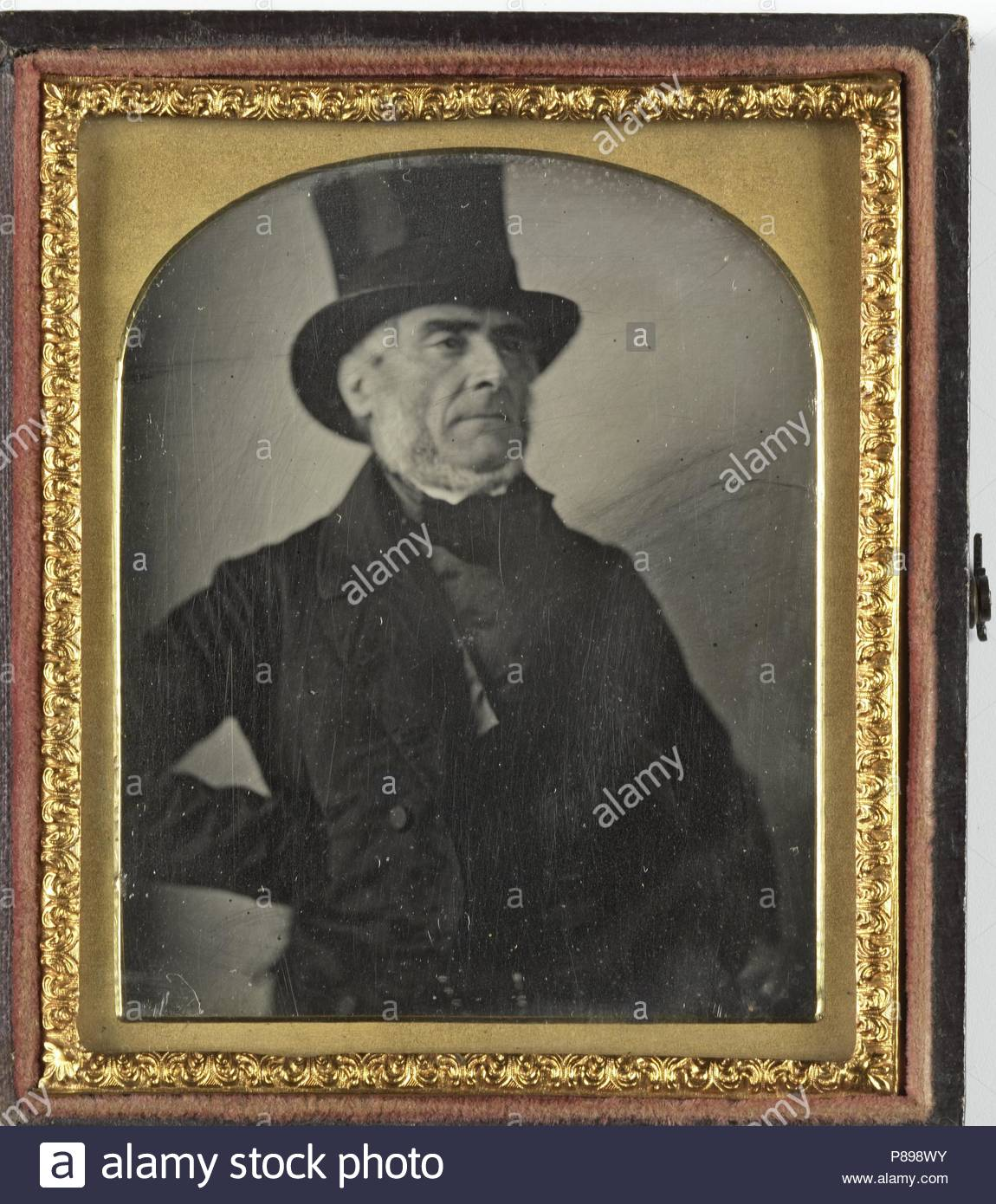 1692d6516d5 Portrait of a man with top hat anonymous stock jpg 1150x1390 1845 hat