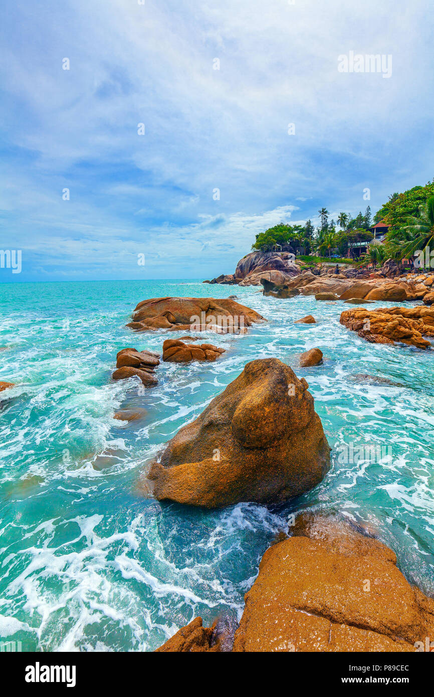 Beautiful nature of Koh Samui in Thailand. - Stock Image
