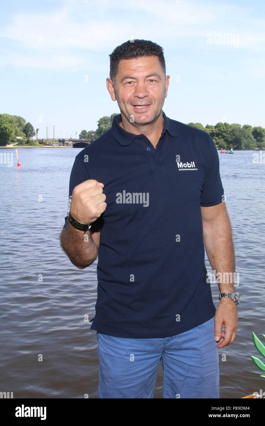 Dragon Boat Race 08 06 2018 Featuring Luan Krasniqi Where Hamburg Germany When 08 Jun 2018 Credit Becher Wenn Com Stock Photo Alamy