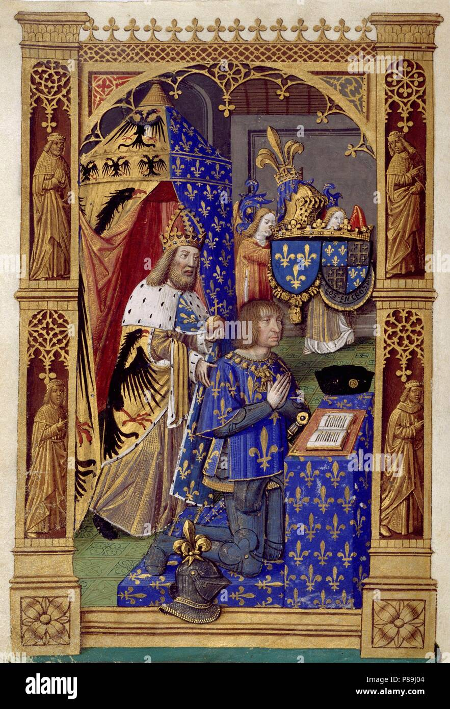 Louis XII of France (Book of Hours of Charles VIII, King of France ...