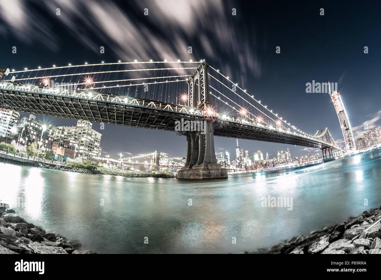 Urban Nights - Stock Image