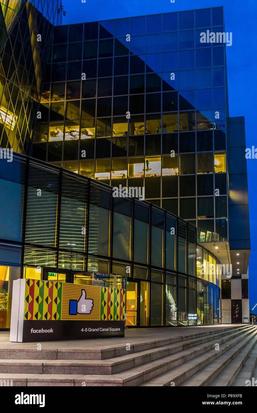 Facebook Ireland Stock Photos & Facebook Ireland Stock