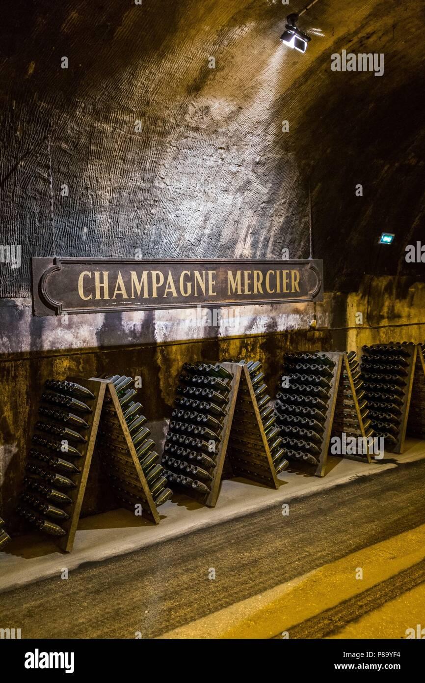 CHAMPAGNE, (51) MARNE, GRAND EST REGION, FRANCE - Stock Image