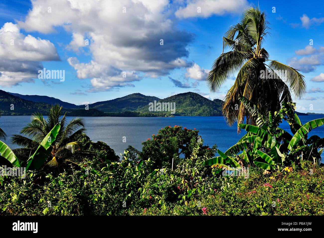 Kwato Island, Milne Bay, Alotau, Papua New Guinea, Oceania - Stock Image