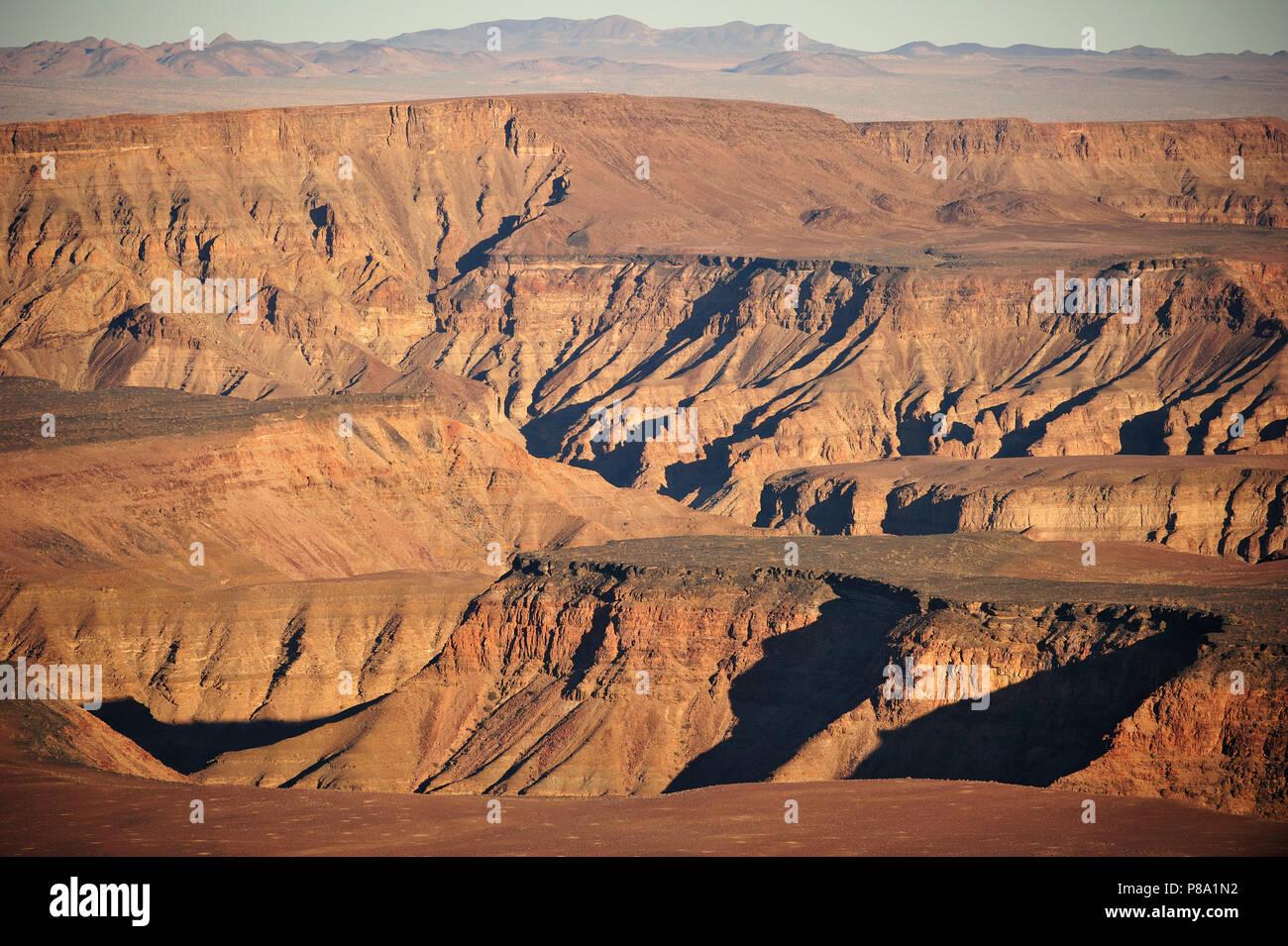 Fish River Canyon, Richtersveld National Park, Namibia - Stock Image