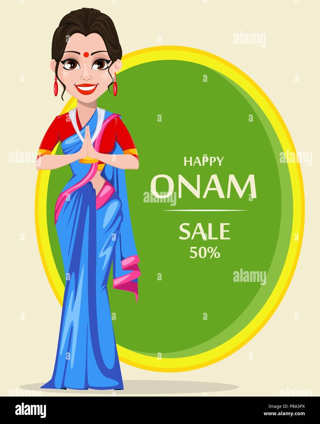 Onam Stock Vector Images Alamy