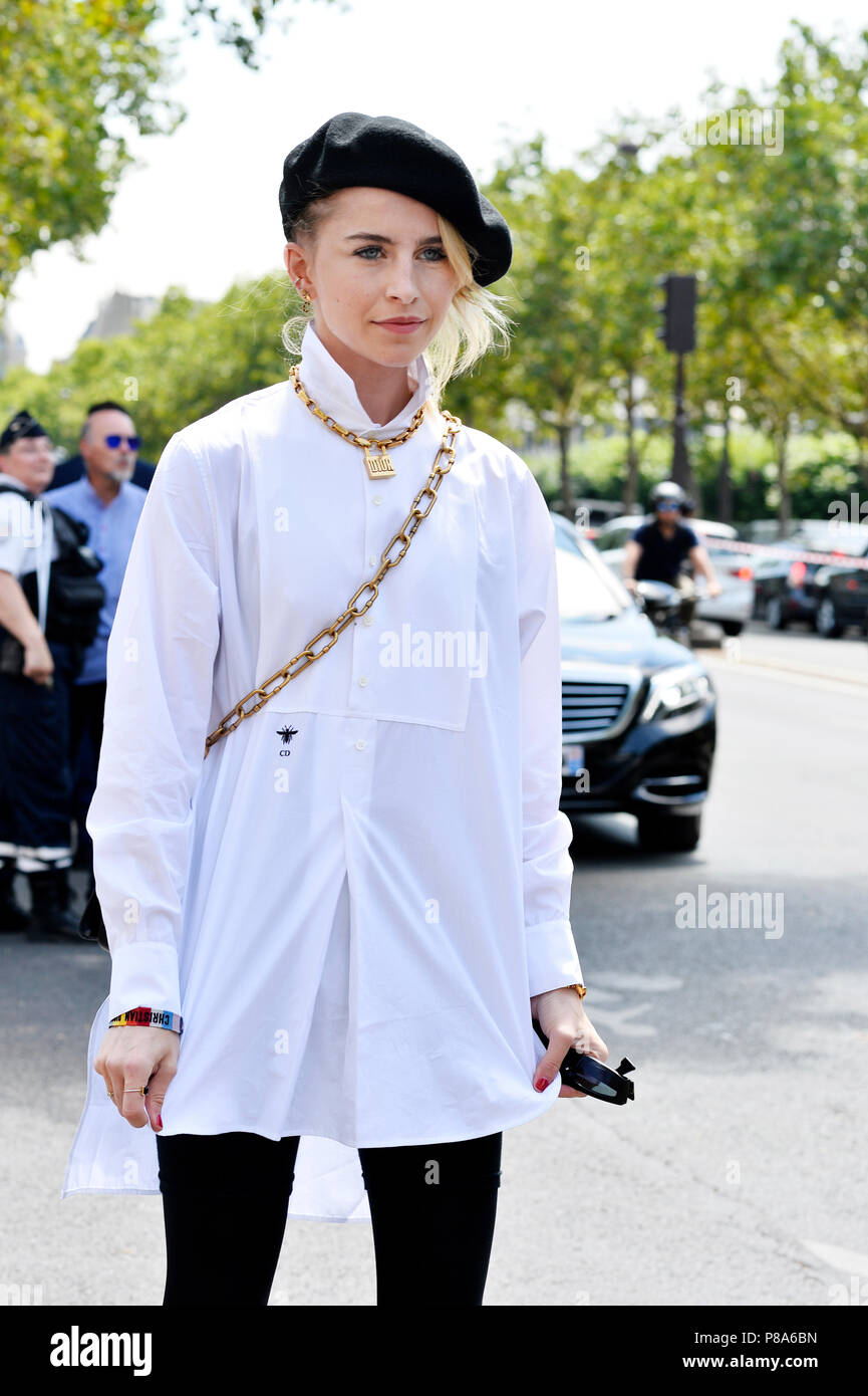 6bfb0c441 Caroline Daur - StreetStyle outside DIOR - Paris Fashion Week Haute Couture  Fall-Winter 2018