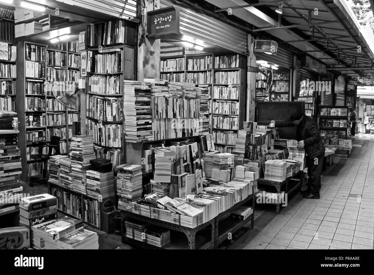Bosu book street - Stock Image