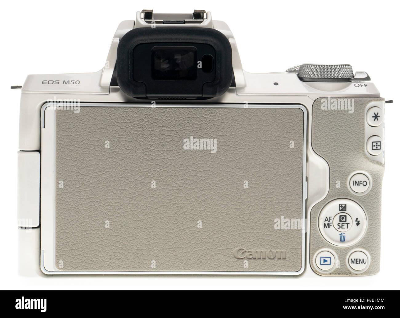 Canon EOS M50 small format mirrorless system camera for the entry level market - Stock Image