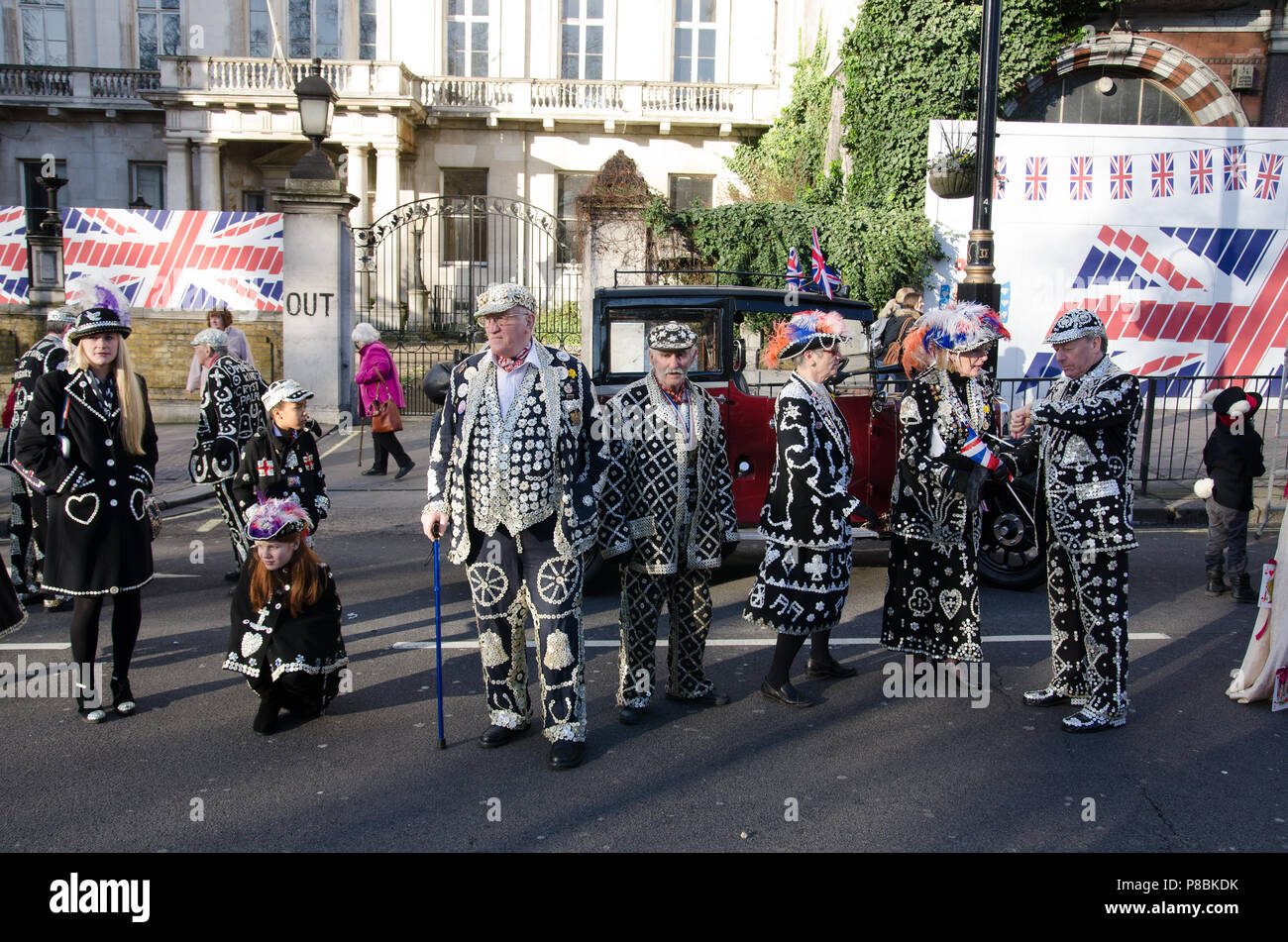 New Years Day parade, London 2013 - Stock Image