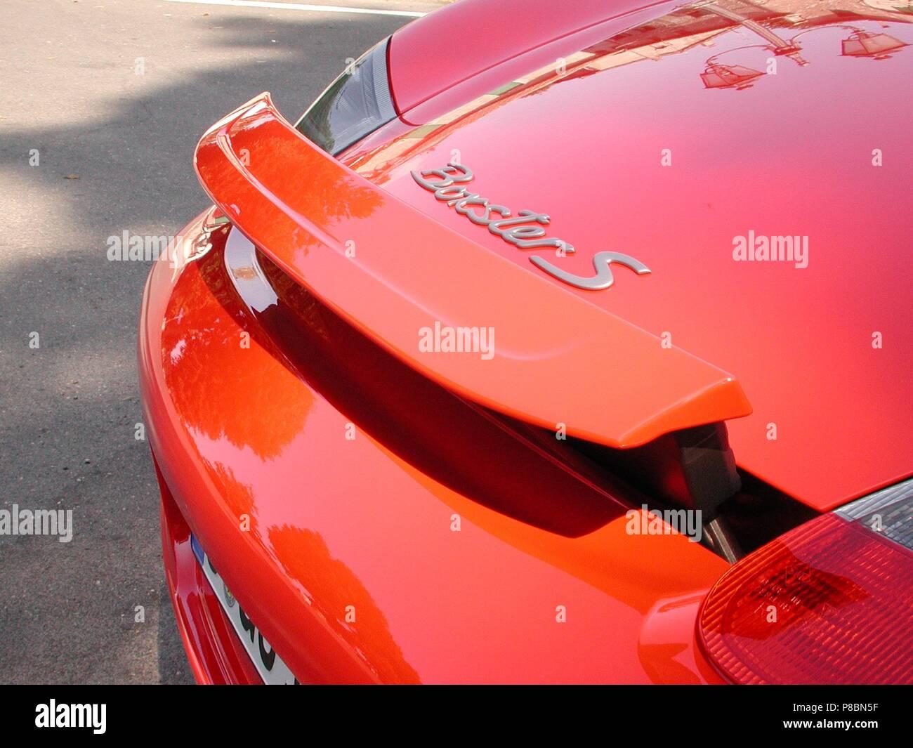 Rear Spoiler Stock Photos Rear Spoiler Stock Images Alamy