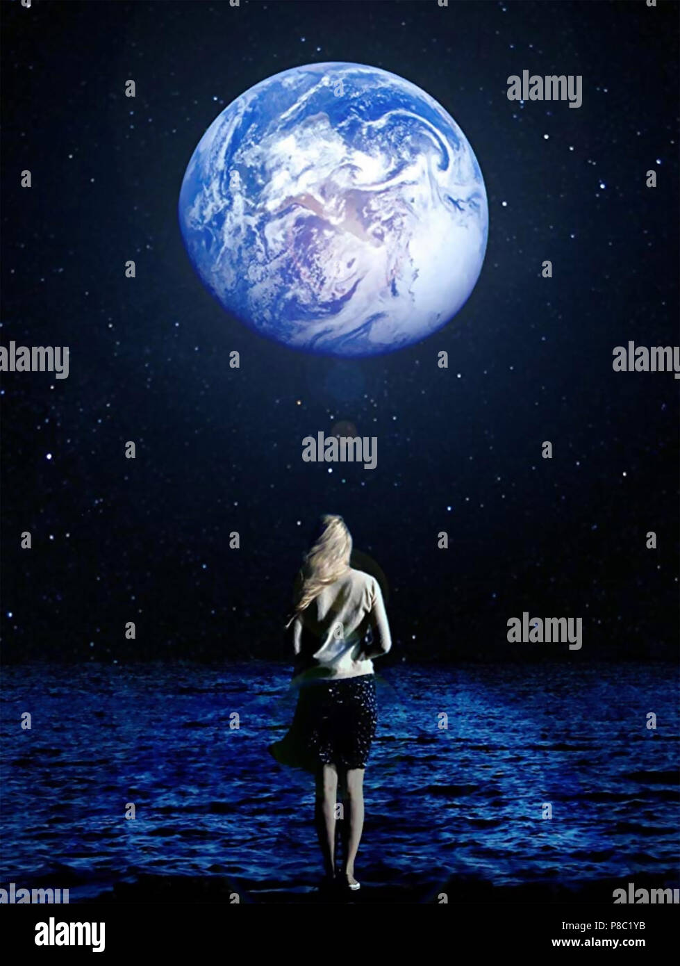 ANOTHER EARTH 2011 Fox Searchlight film with Brit Marling Stock Photo