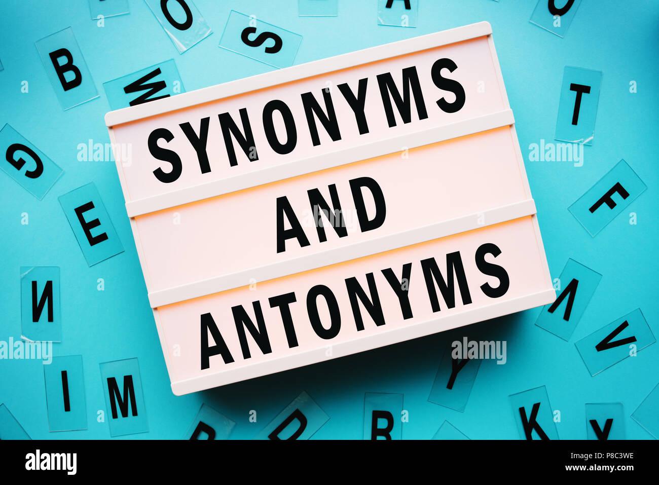 Bakgrund Synonym