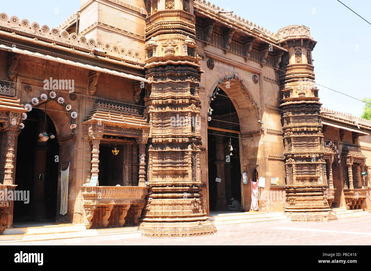 Religion, Rani-Mosque, arhcitecture, Ahmedabad-City, Gujarat, India - Stock Image