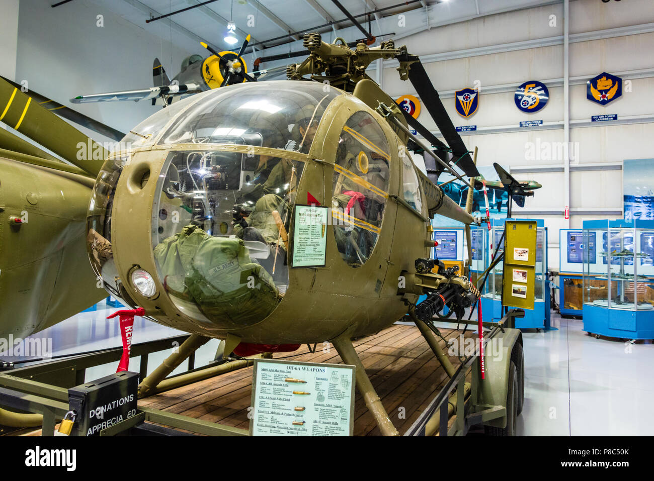 Hughes OH-6A Cayuse 'Charlie Chopper' - Stock Image