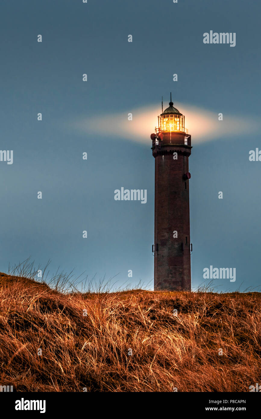 Lighthouse / Tower on Norderney Germany Stock Photo