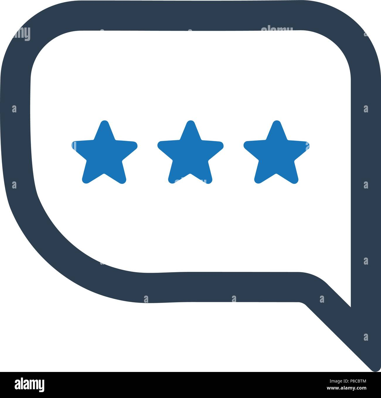 Satisfaction Feedback Icon - Stock Vector
